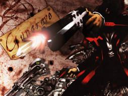 аниме, gun, grave