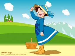 heidi, page, аниме