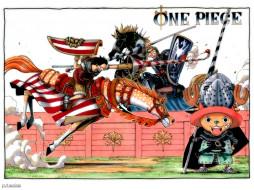 One Piece Knights обои для рабочего стола 1024x768 one, piece, knights, аниме, monkey, d, luffy, roronoa, zoro, chopper