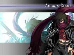 обои для рабочего стола 1600x1200 аниме, answer, dead