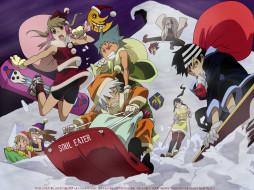 winter, аниме, soul, eater