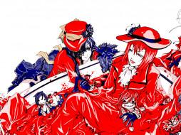 madam, red, аниме, kuroshitsuji