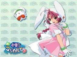 обои для рабочего стола 1024x768 аниме, nurse, witch, komugi, chan