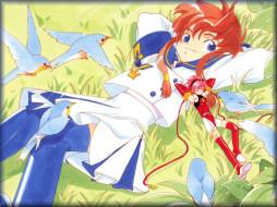 аниме, angelic, layer
