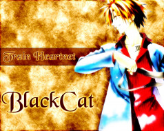 обои для рабочего стола 1280x1024 аниме, black, cat