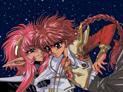 аниме, magic, knight, rayearth