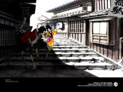 обои для рабочего стола 1024x768 аниме, samurai, champloo