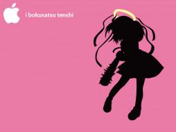 аниме, bokusatsu, tenshi, dokuro, chan