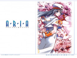 обои для рабочего стола 1024x768 аниме, aria