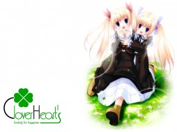 аниме, clover, hearts