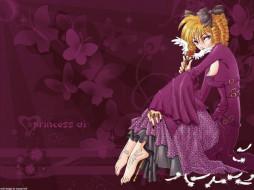 аниме, princess, ai