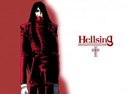 обои для рабочего стола 1024x768 аниме, hellsing, алукард, вампир, alucard