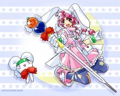 аниме, nurse, witch, komugi, chan