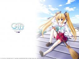 аниме, gift, eternal, rainbow