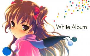 аниме, white, album