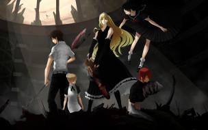 аниме, monster, princess