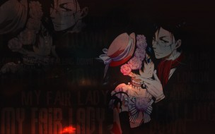 обои для рабочего стола 1280x800 аниме, kuroshitsuji