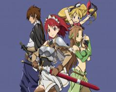 аниме, seiken, no, blacksmith