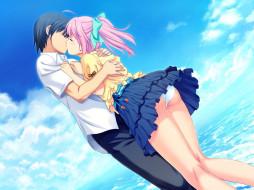 аниме, tropical, kiss