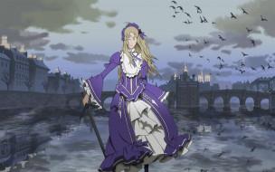 le, chevalier, d`eon, аниме