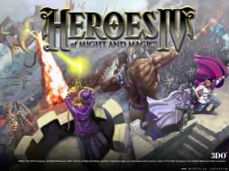 герои, видео, игры, heroes, of, might, and, magic, iv
