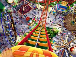 rollercoaster, tycoon, видео, игры