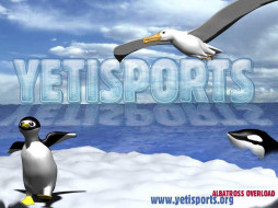 видео, игры, yetisports, albatross, overload