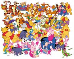 мультфильмы, winnie, the, pooh, дисней