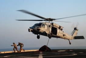 MH-60S обои для рабочего стола 2048x1375 mh, 60s, авиация, вертолёты, посадка, вертолет, палуба