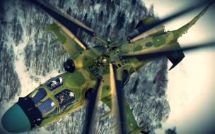 к-52 обои для рабочего стола 1920x1200 52, авиация, вертолёты, полет, вертолет