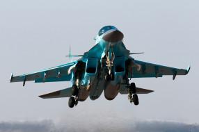 су, 34, авиация, боевые, самолёты, су-34, бомбардировщик, fullback
