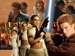 звездные, войны, ii, атака, клонов, кино, фильмы, star, wars, episode, attack, of, the, clones