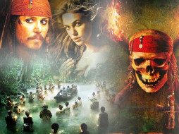 кино, фильмы, pirates, of, the, caribbean, dead, man`s, chest