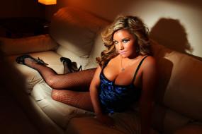 -Unsort Блондинки, девушки, unsort, блондинки, туфли, колготки, диван, angel-leena