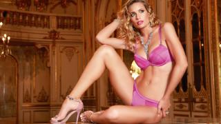 Ivana Saccani, девушки, lingerie