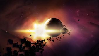 обои для рабочего стола 1920x1080 космос, арт, звезды, планеты