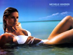 Michelle Hunziker, девушки