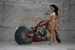 обои для рабочего стола 2760x1839 мотоциклы, мото, девушкой, девушка