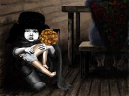 куклу, вам, не, отдам, рисованные, дети