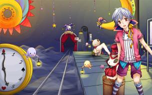karneval, аниме, игрушки, мальчик