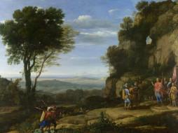 Клод Лоррен - Пейзаж с Давидом и тремя героями обои для рабочего стола 1600x1200 клод, лоррен, пейзаж, давидом, тремя, героями, рисованные, claude, lorrain