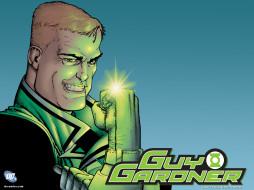 Guy Gardner обои для рабочего стола 1600x1200 guy, gardner, рисованные, комиксы