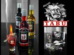 tabu, absinth, бренды