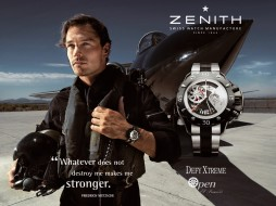 zenith, defy, xtreme, watches, бренды