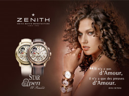 Zenith Queen of Love Watches обои для рабочего стола 1024x768 zenith, queen, of, love, watches, бренды