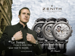 zenith, chronomaster, open, watches, бренды