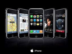 обои для рабочего стола 1600x1200 бренды, iphone