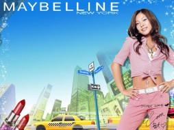 бренды, maybelline