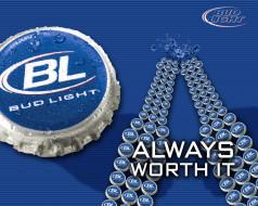 бренды, bud, light