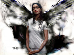 angel, фэнтези, ангелы